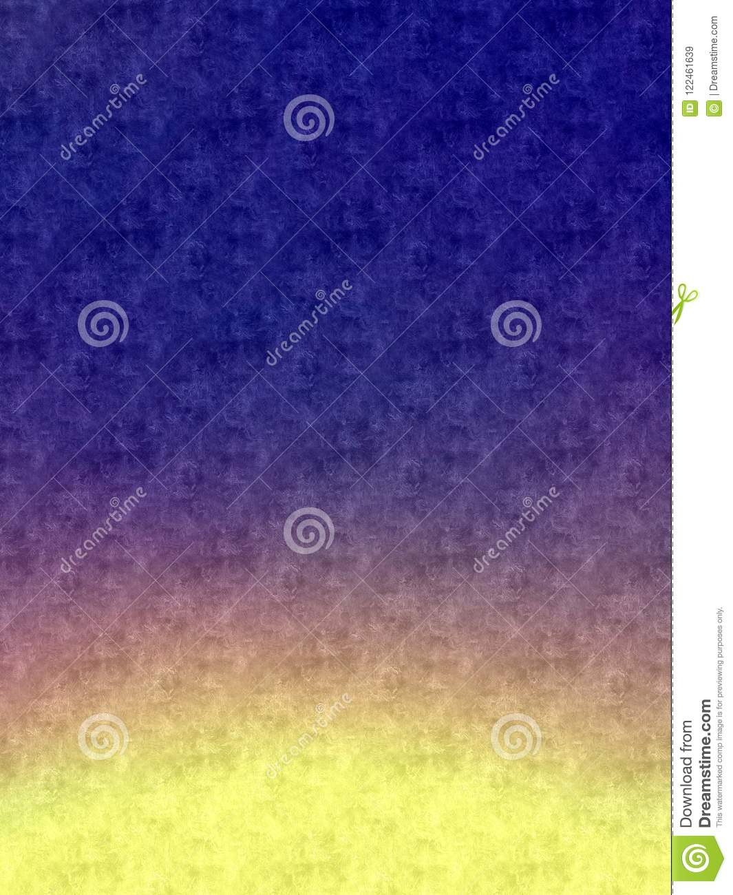 Purple And Yellow Ombre Beautiful Wallpaper Background