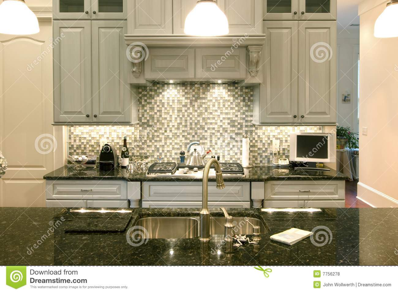 Beautiful backsplash royalty free stock photos image 7756278 - Delightful backsplash designs beautify kitchen ...