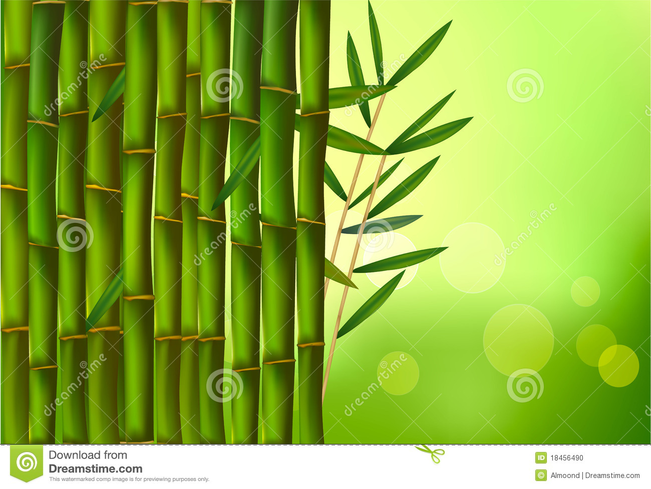 Green Background Wallpaper Design