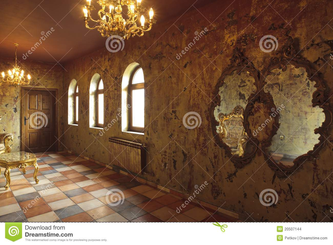 Beautiful Baroque Room Stock Images Image 20507144