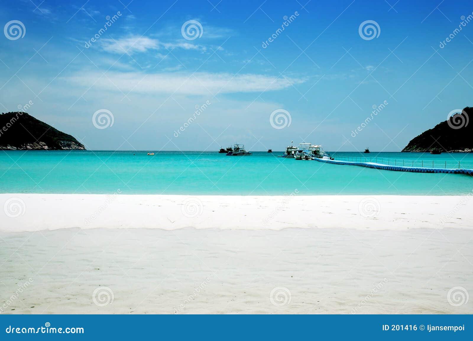 Beautiful Beach Scenery Beautiful beach scenery