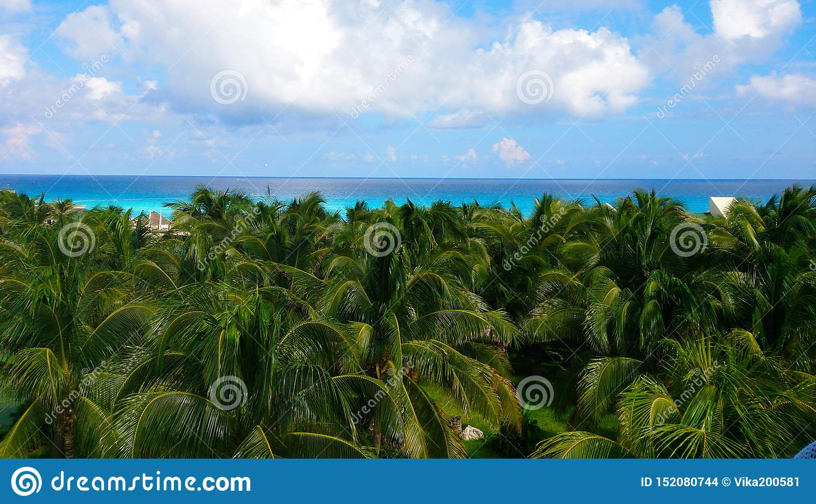 Beautiful beach. Summer holiday and vacation concept for tourism. Inspirational tropical landscape.