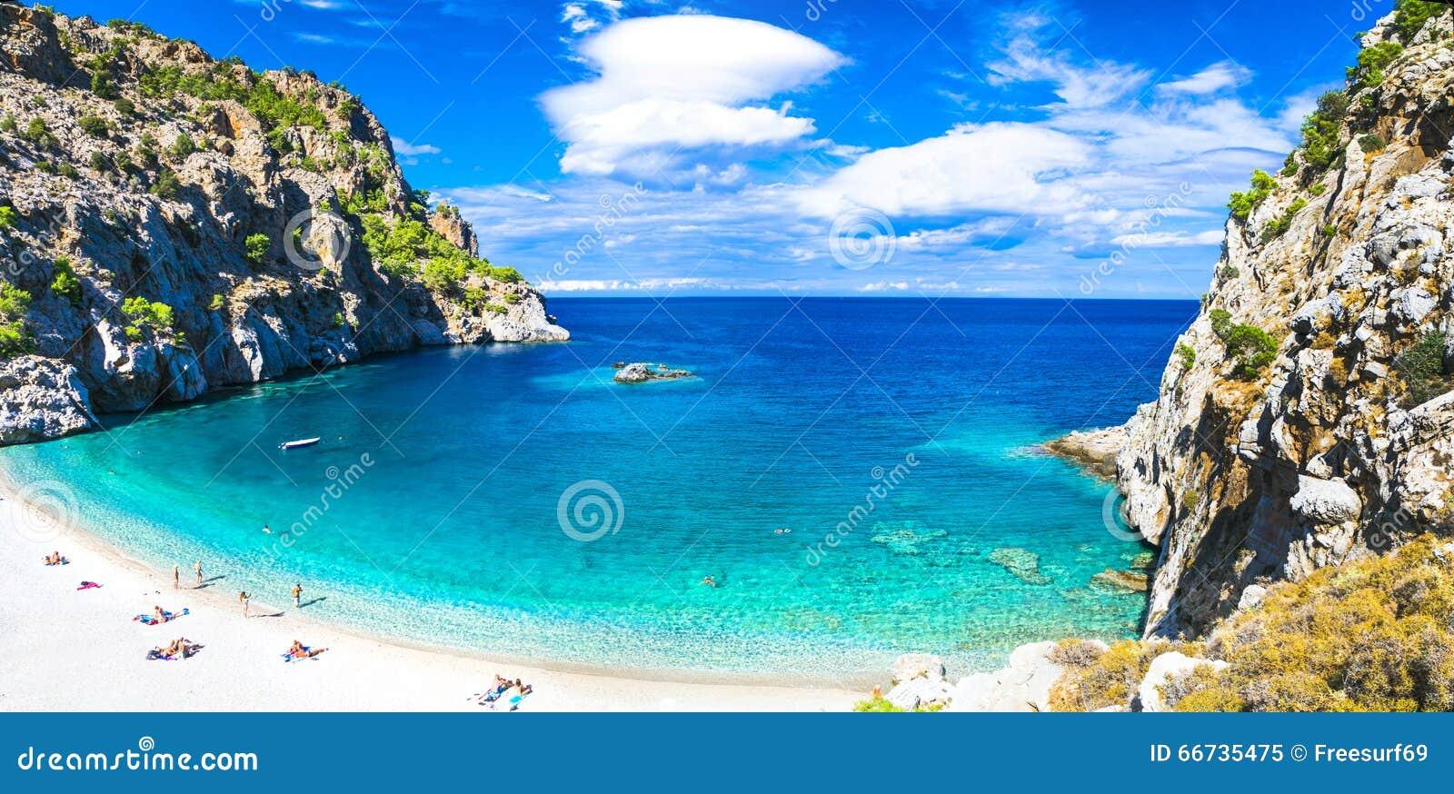 Beautiful beaches of Greece - Apella, Karpathos island