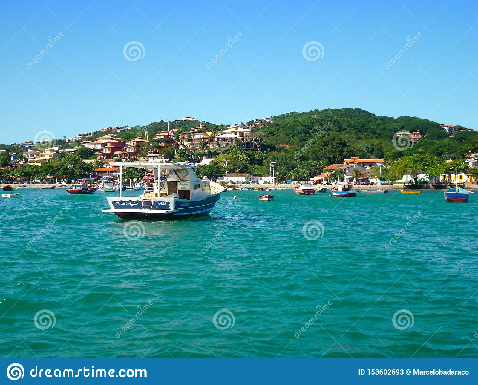 beautiful beaches in the south of america oceanic coast of Brazil