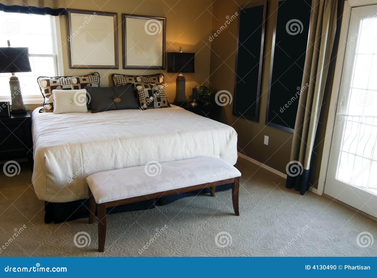 Beautiful bedroom interior design stock photo image 4130490 for Beautiful bedroom interior