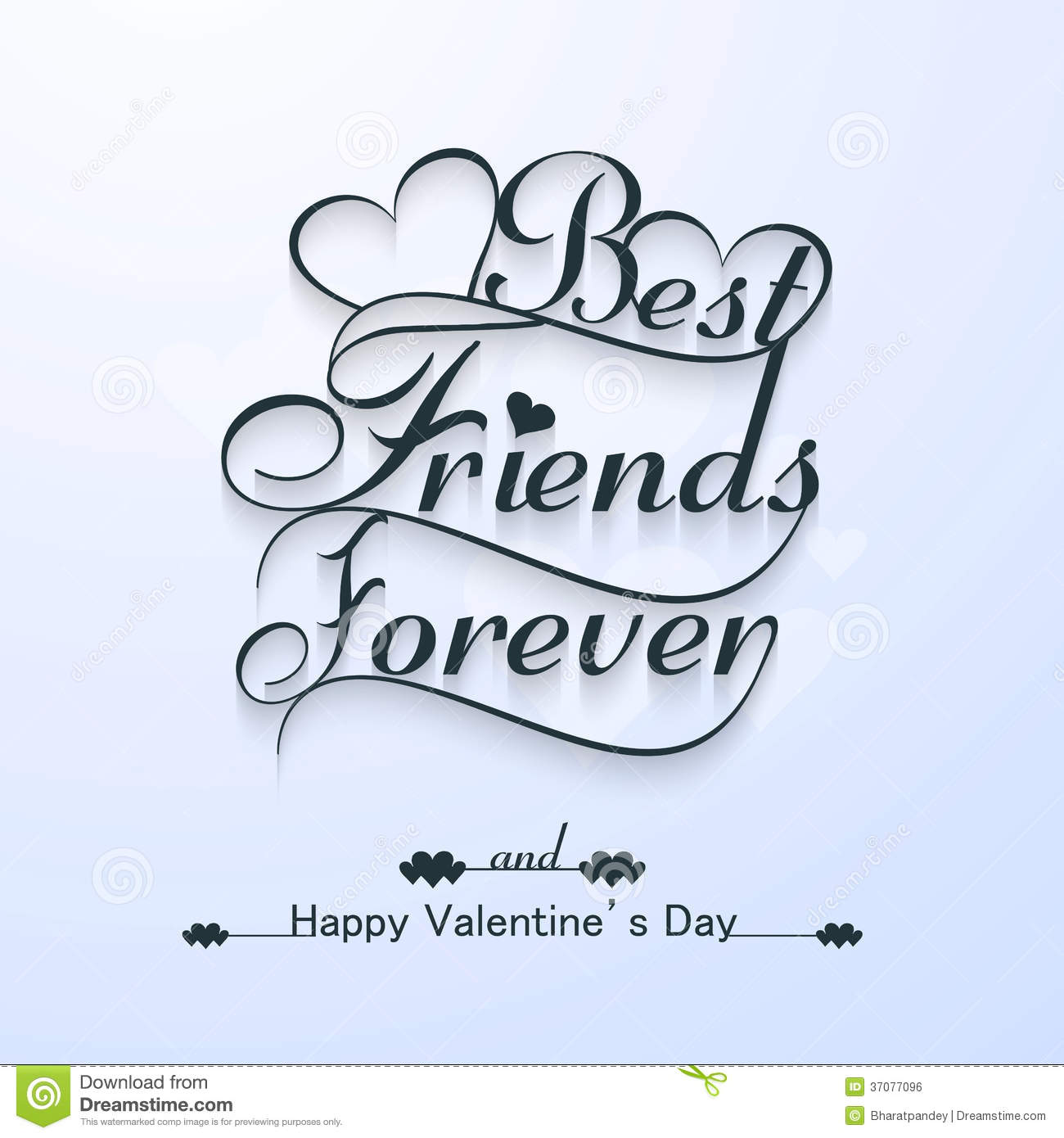 Schön Beautiful Best Friends Forever For Happy Valentine S Day Stylish