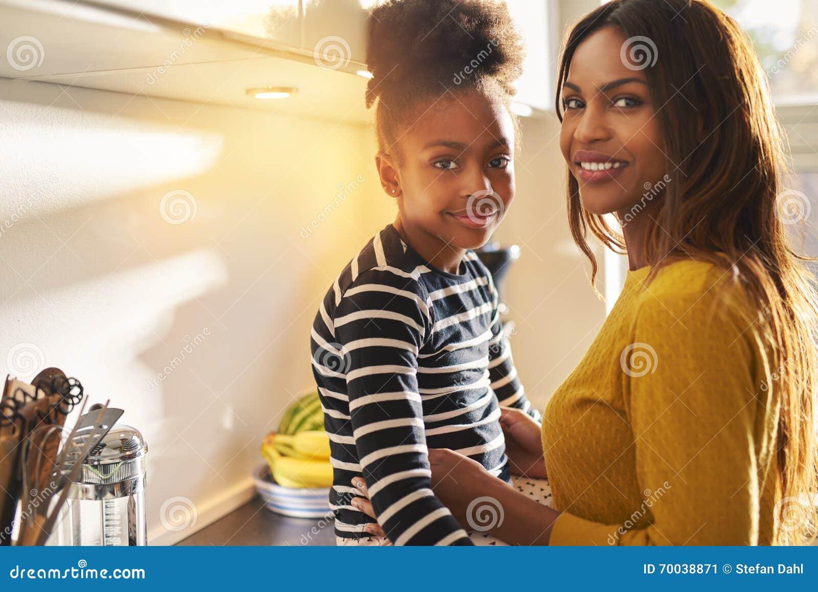 Ebony Milf Mom Daughter