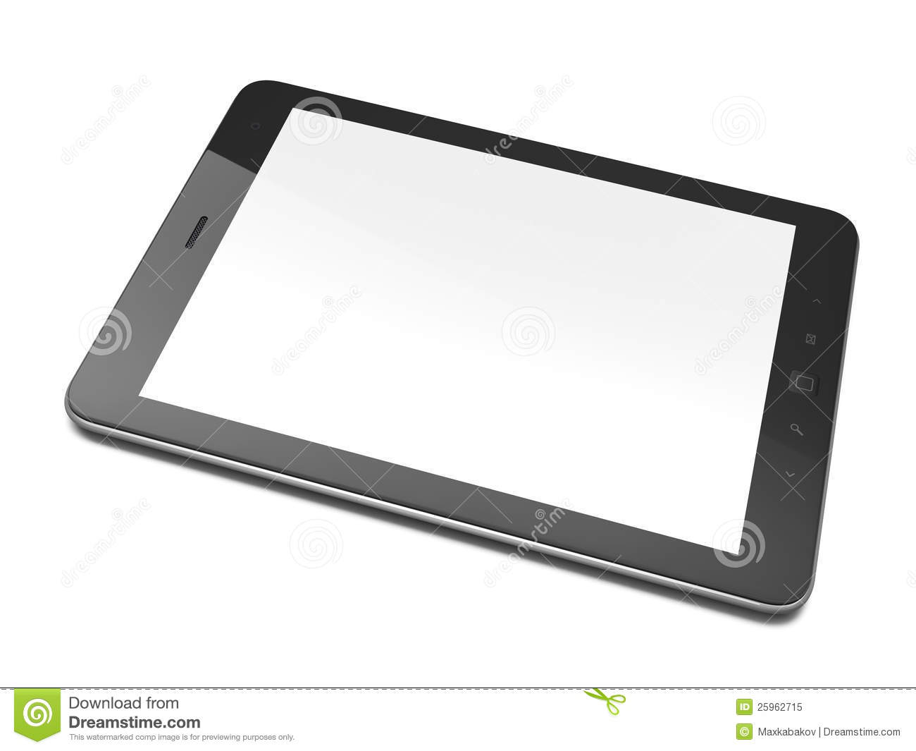 tablet clipart black and white. royalty-free stock photo. download beautiful black tablet pc on white clipart and n