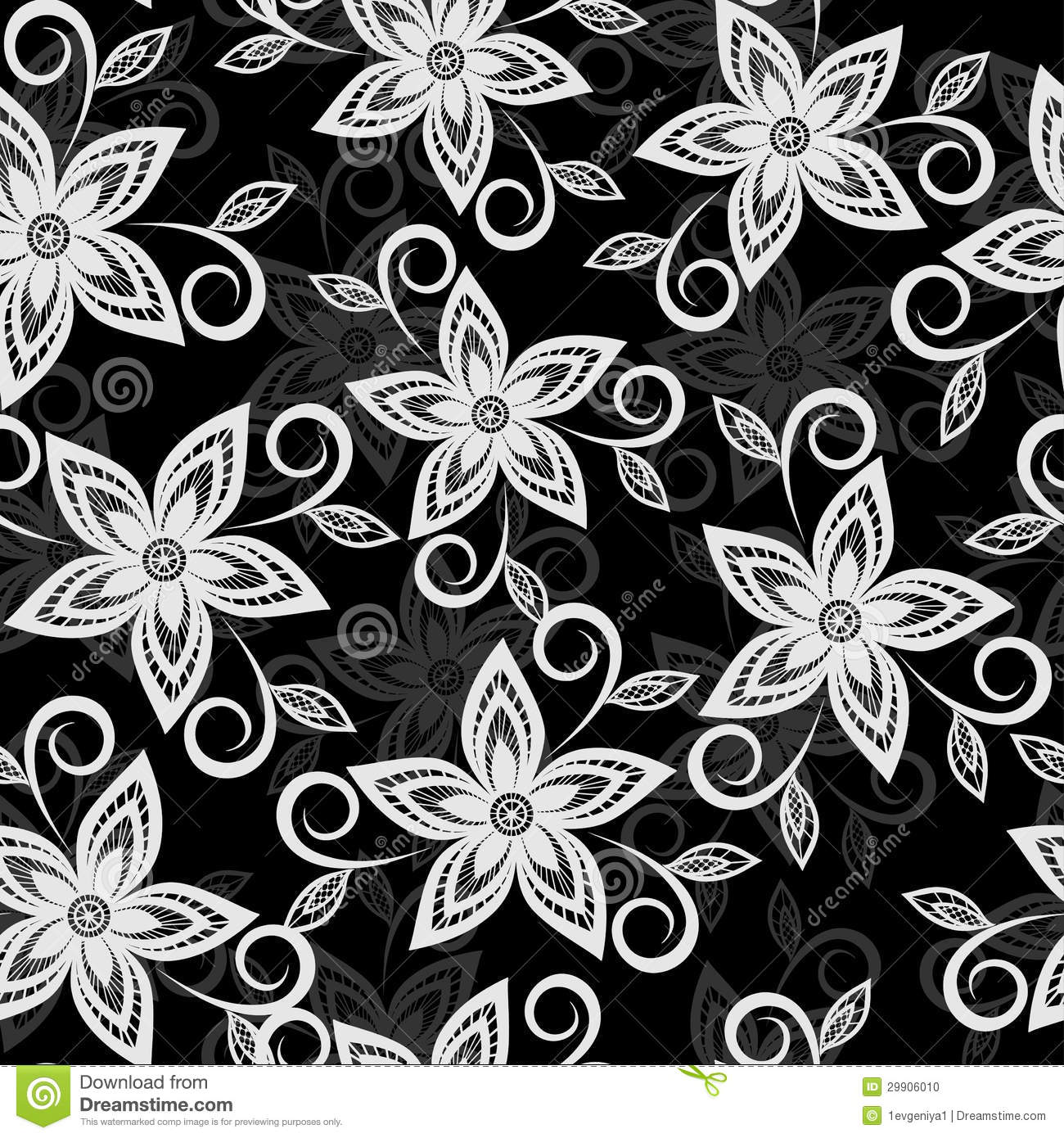 Black and white floral background lace flowers embroidered cutwork download comp mightylinksfo