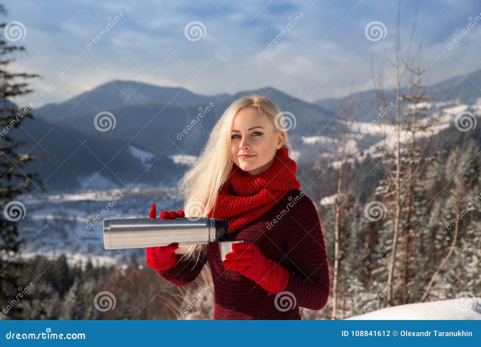 Hot girls in snow