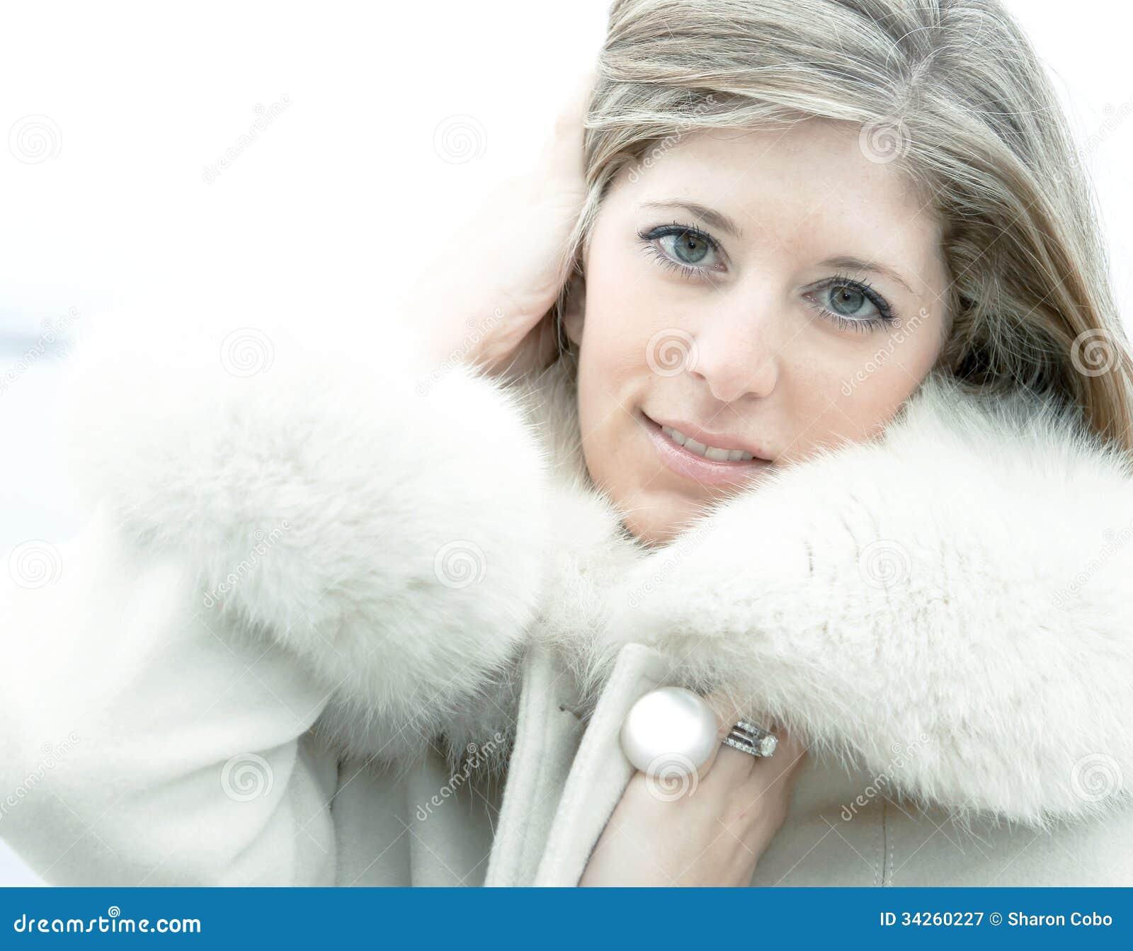 That Beautiful blonde in fur coat consider