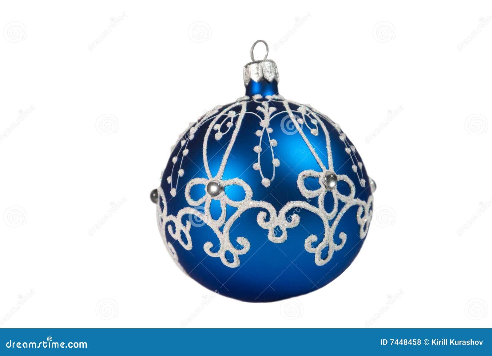 beautiful blue christmas ball royalty free stock photos - Blue Christmas Balls