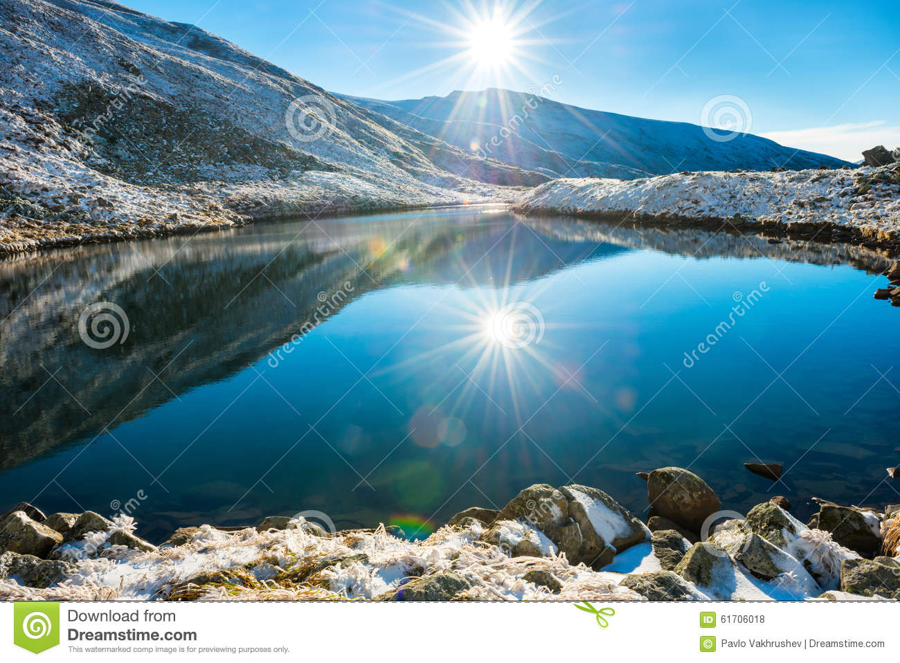 Beautiful Blue Lake Norway Stock Photo 224370790 - Shutterstock