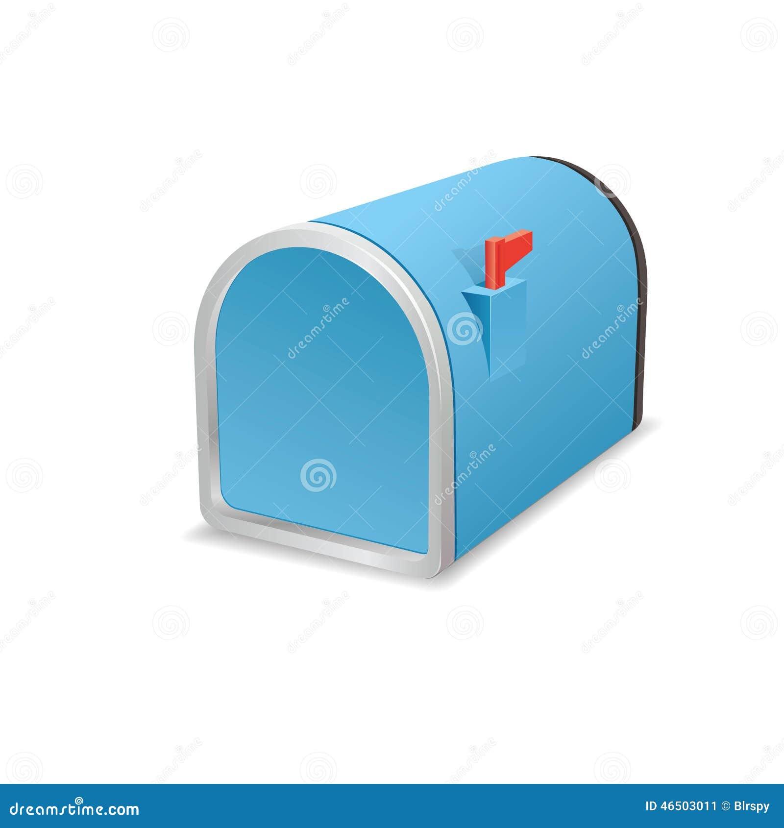 closed mailbox. Beautiful Blue Metallic Closed Mailbox. Mailbox U