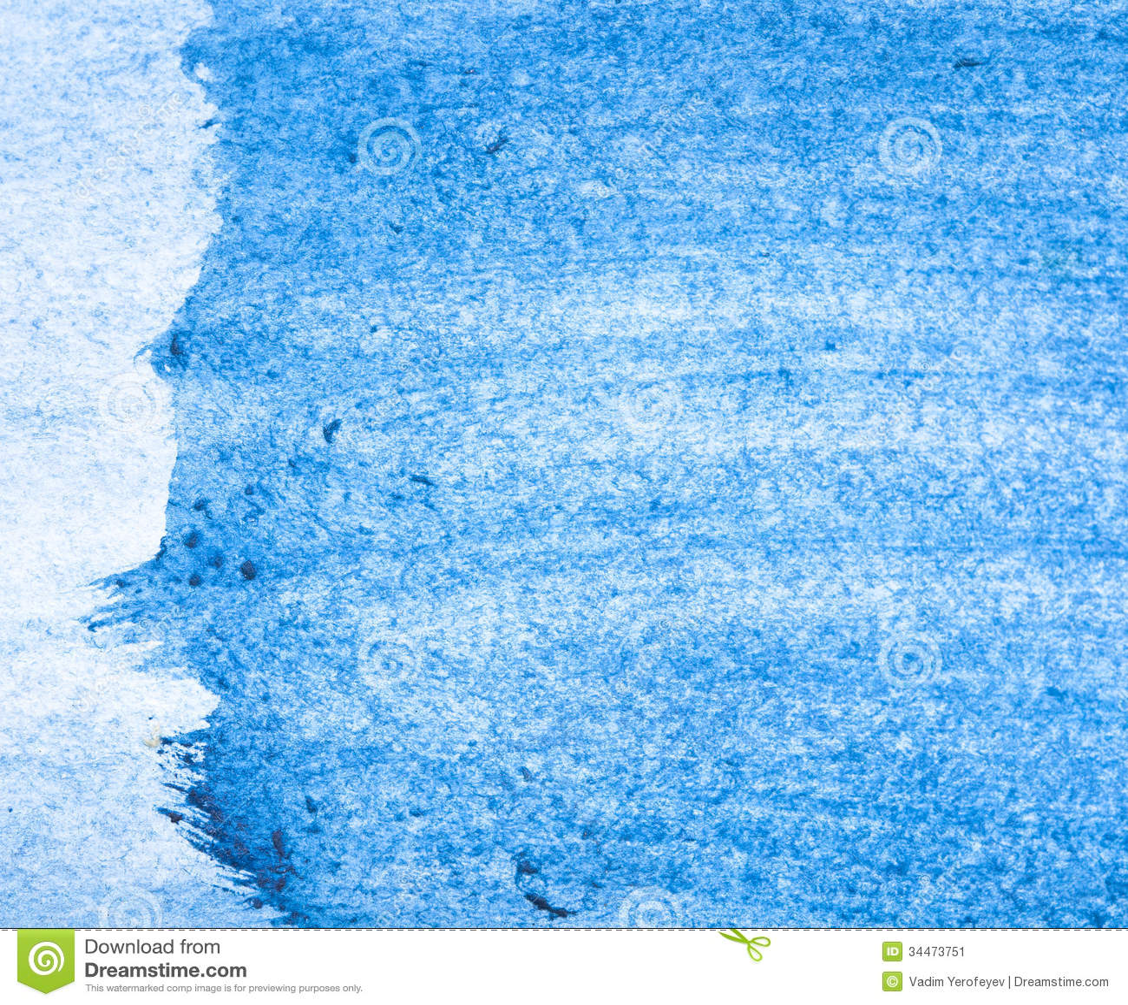 beautiful blue watercolor background stock image image 34473751. Black Bedroom Furniture Sets. Home Design Ideas