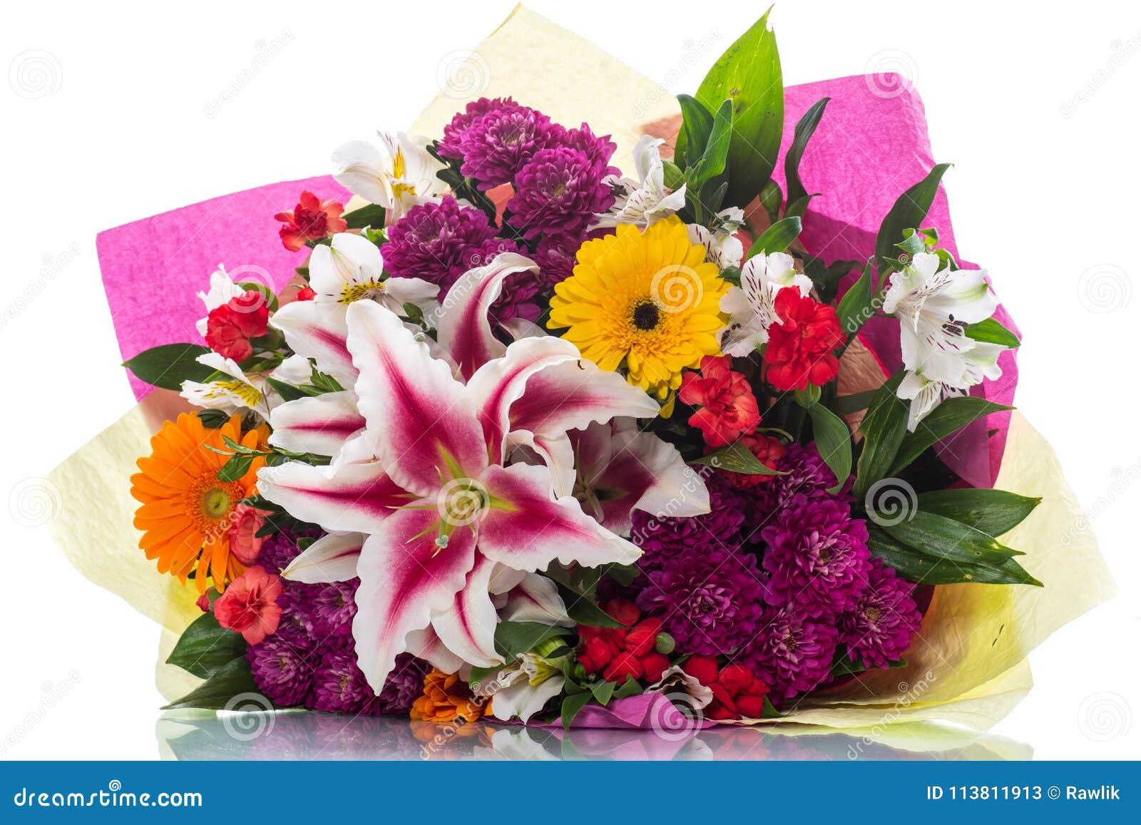 Beautiful bouquet of different flowers stock image image of beautiful bouquet of different flowers izmirmasajfo Gallery