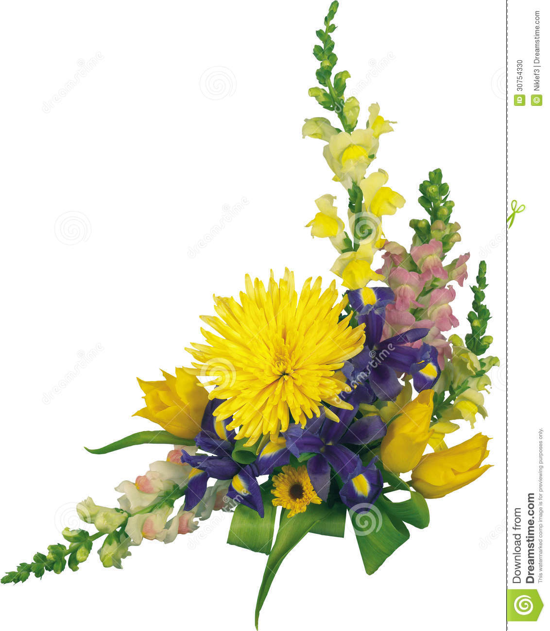 Beautiful bouquet of flowers red and yellow flowers in the corn royalty free stock photo izmirmasajfo