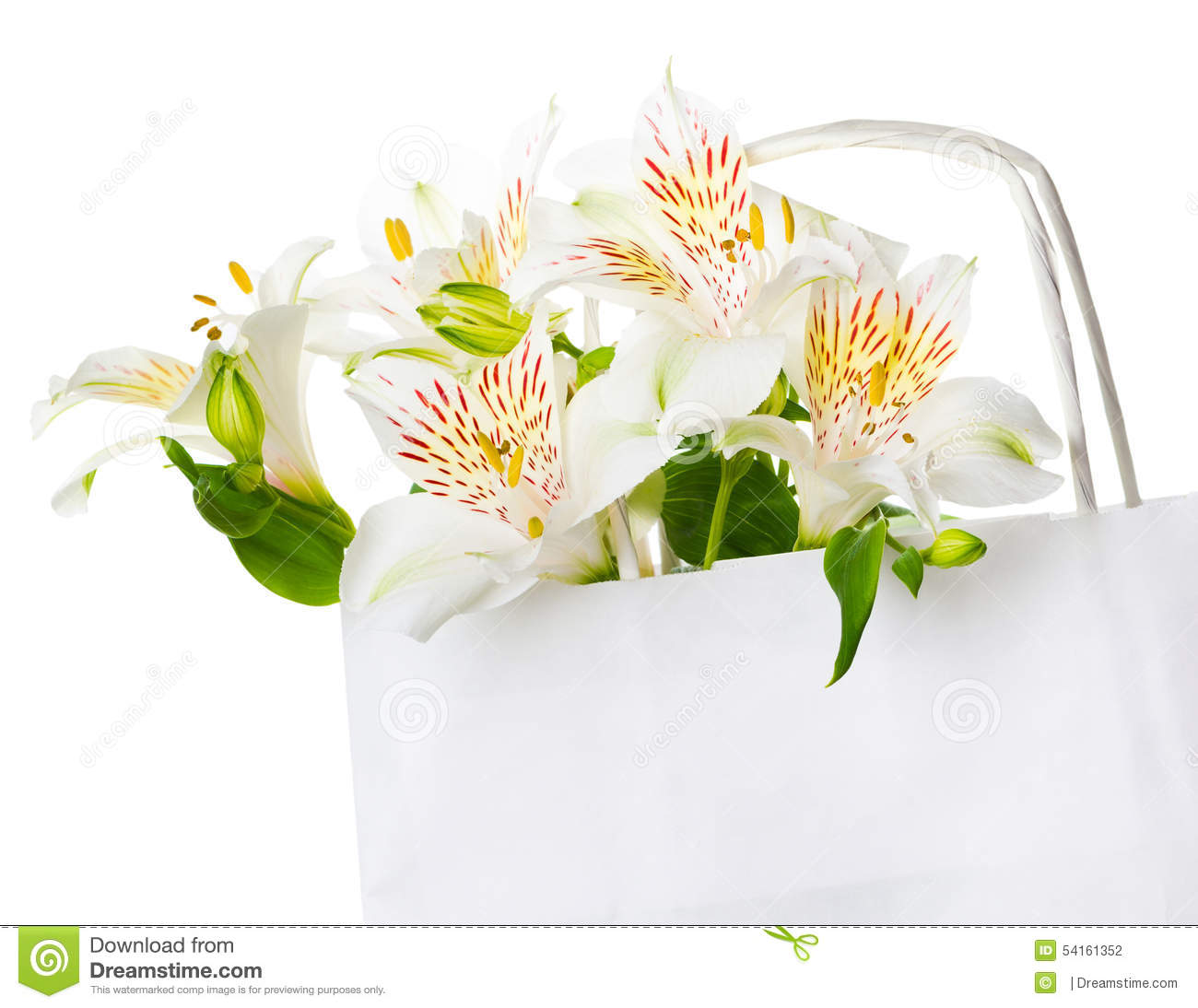 Beautiful bouquet of white flowers for mothers day stock photo beautiful bouquet of white flowers for mother s day izmirmasajfo