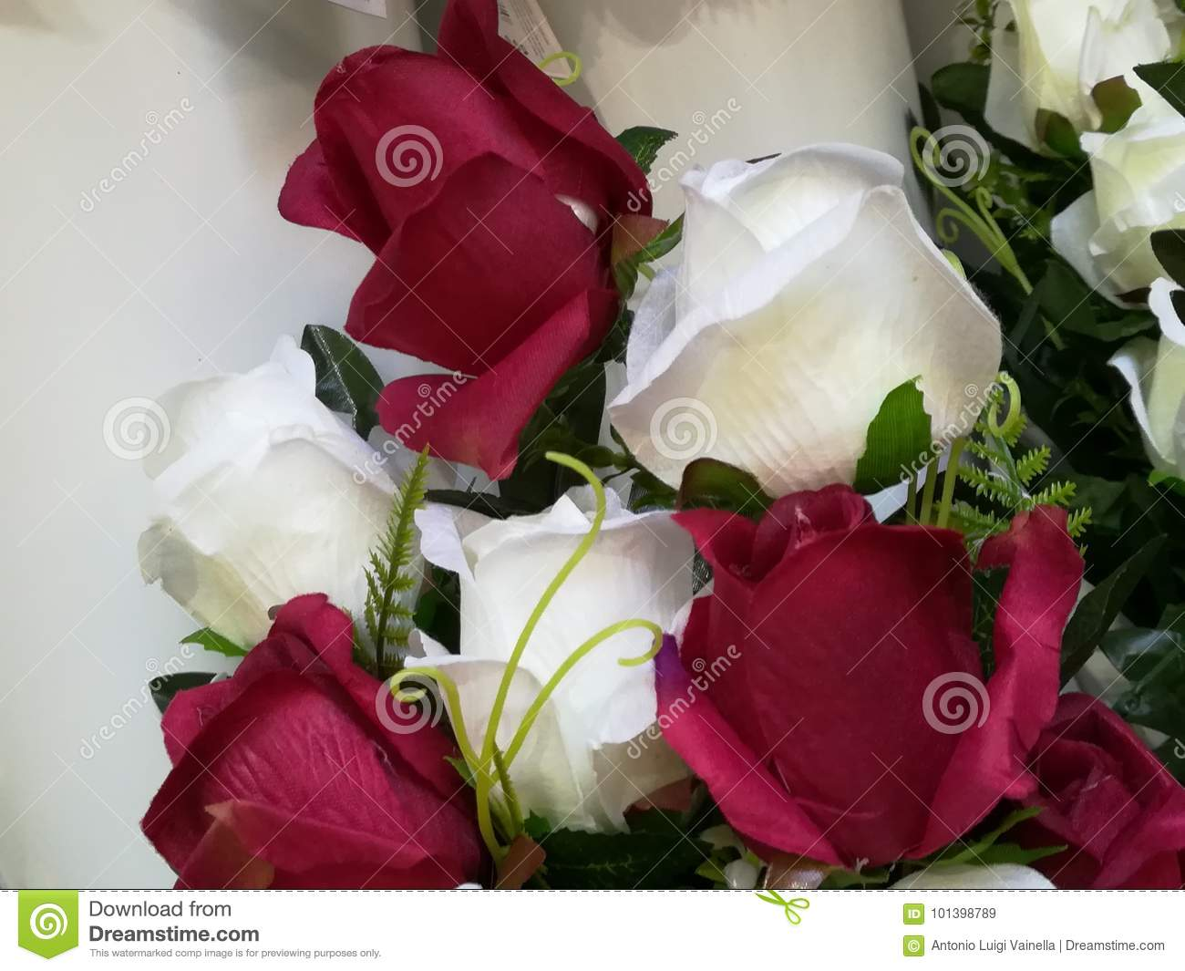 A bouquet of red and white roses stock image image of beloved a bouquet of red and white roses izmirmasajfo