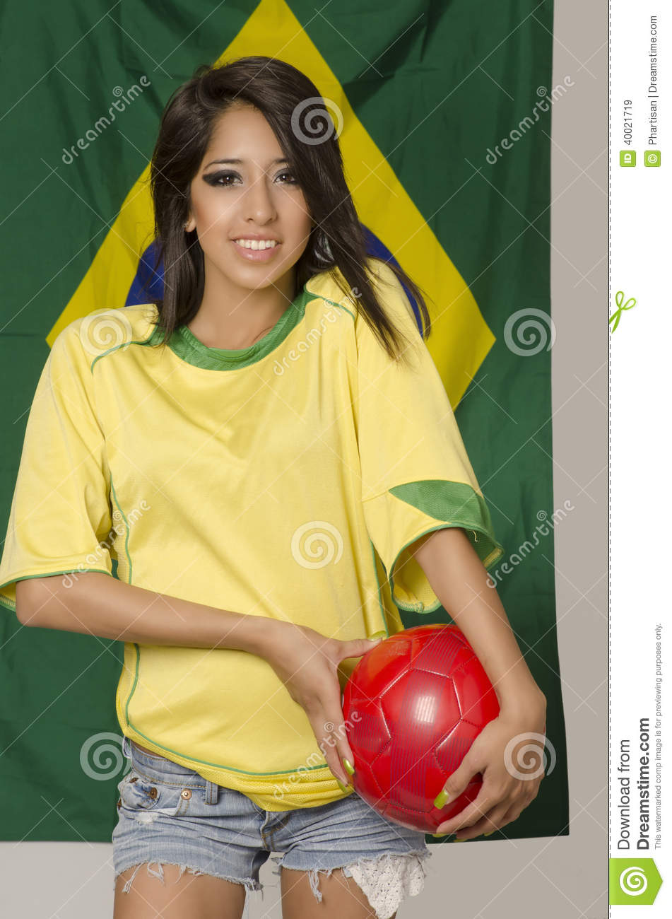 Know Beautiful soccer fan brazil excellent, support
