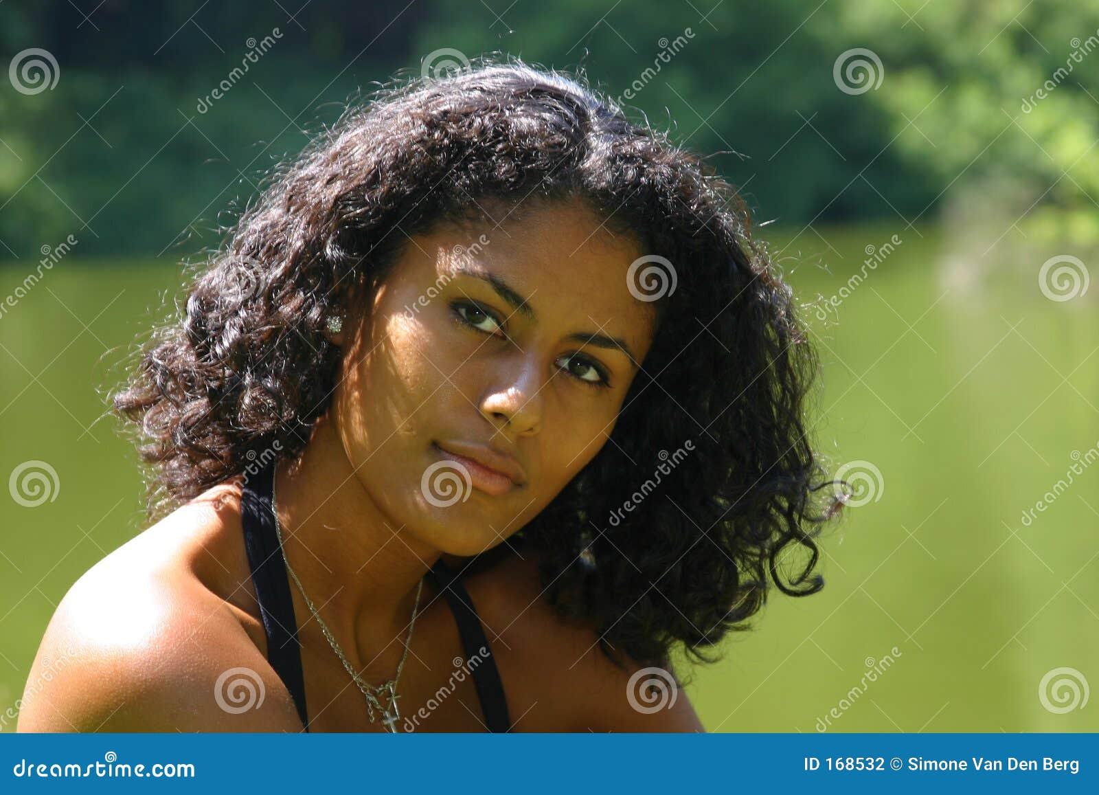 Beautiful brazilian woman