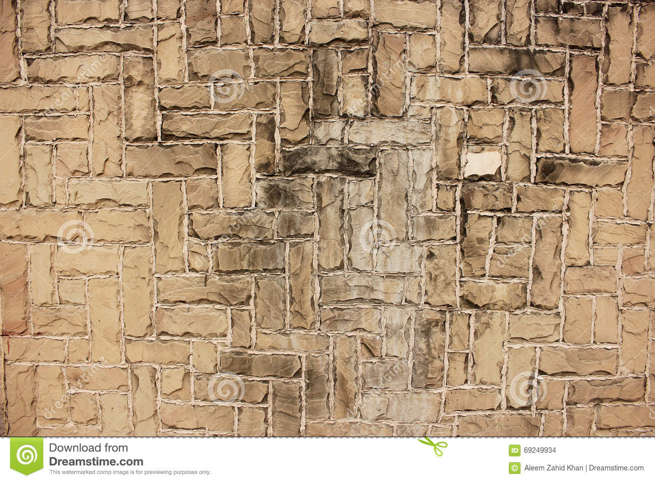 Beautiful Bricks Wall Background And Texture Download Preview
