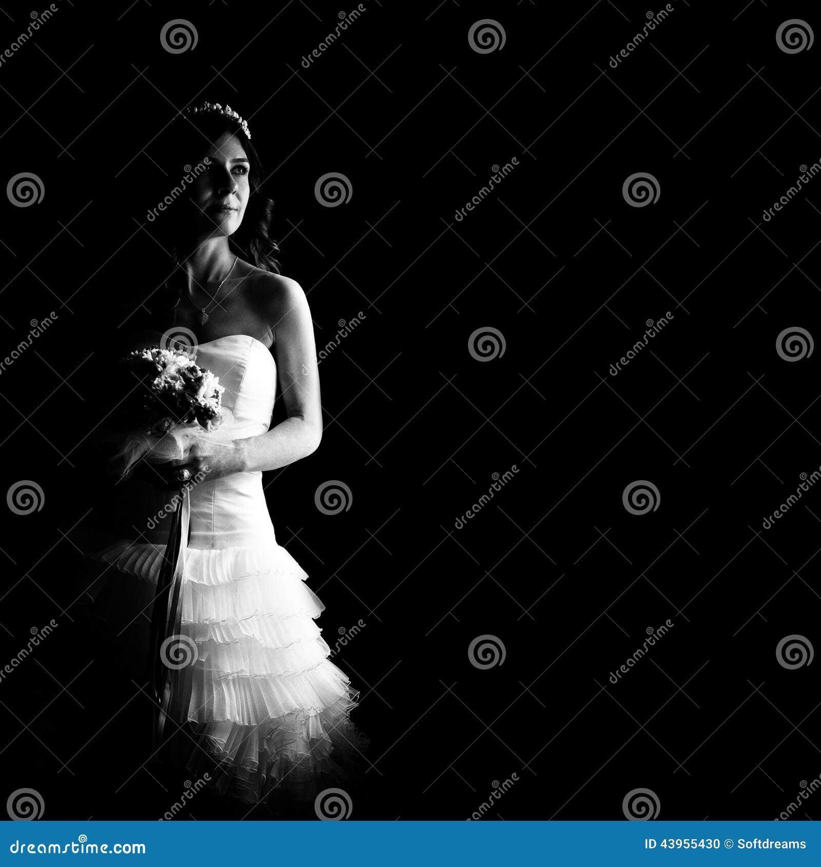 Beautiful Indoor Wedding Ceremony: Beautiful Bride Indoor Stock Photo. Image Of Color