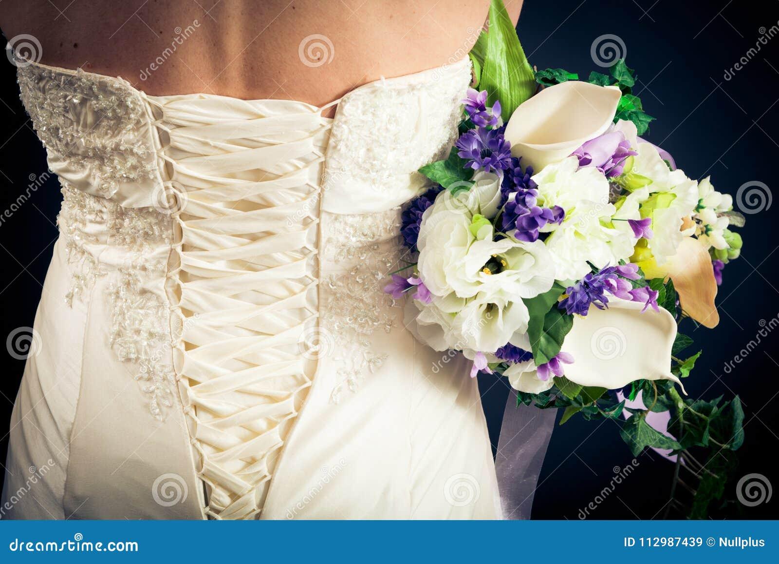 Beautiful Bride`s Back