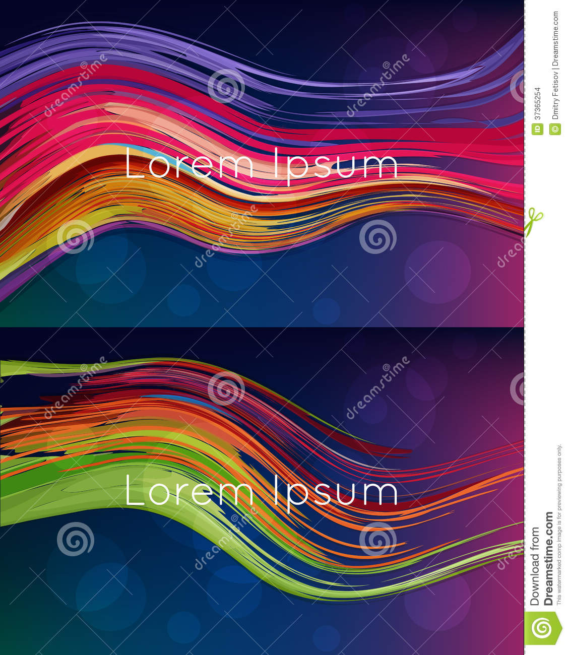 Beautiful Bright Abstract Backgrounds Stock Images