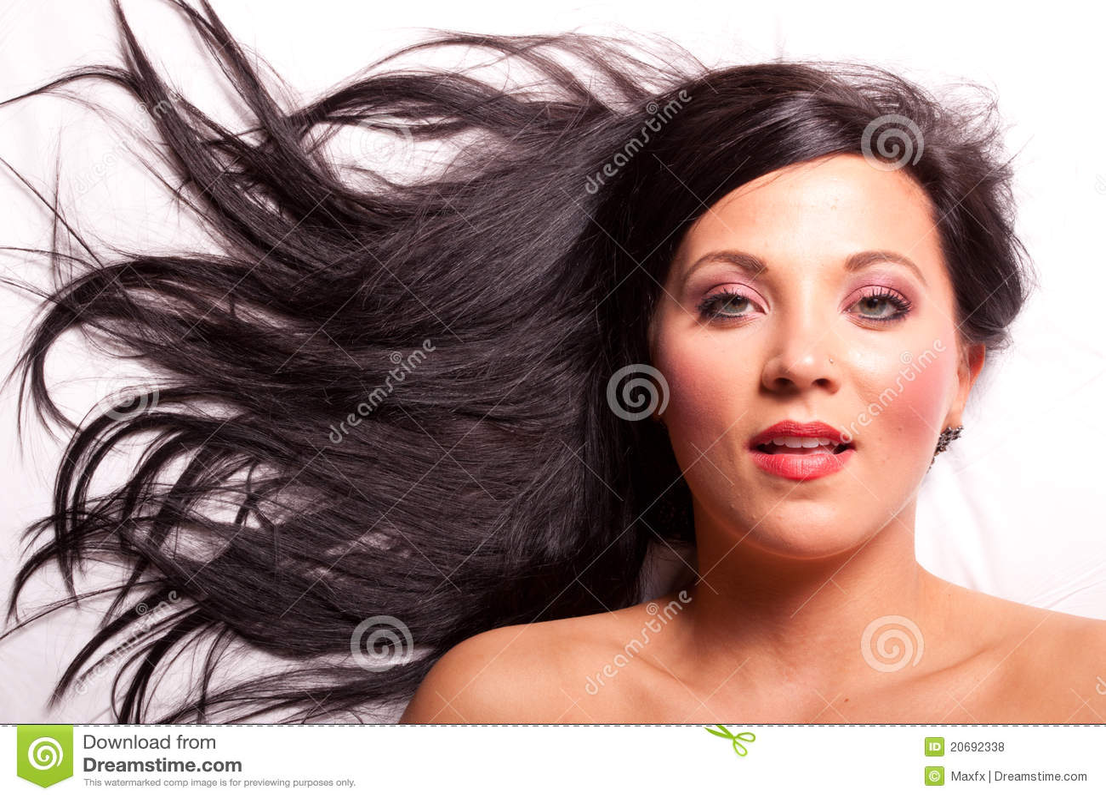 www chotiya style beautiful brunette stock photos pictures ...