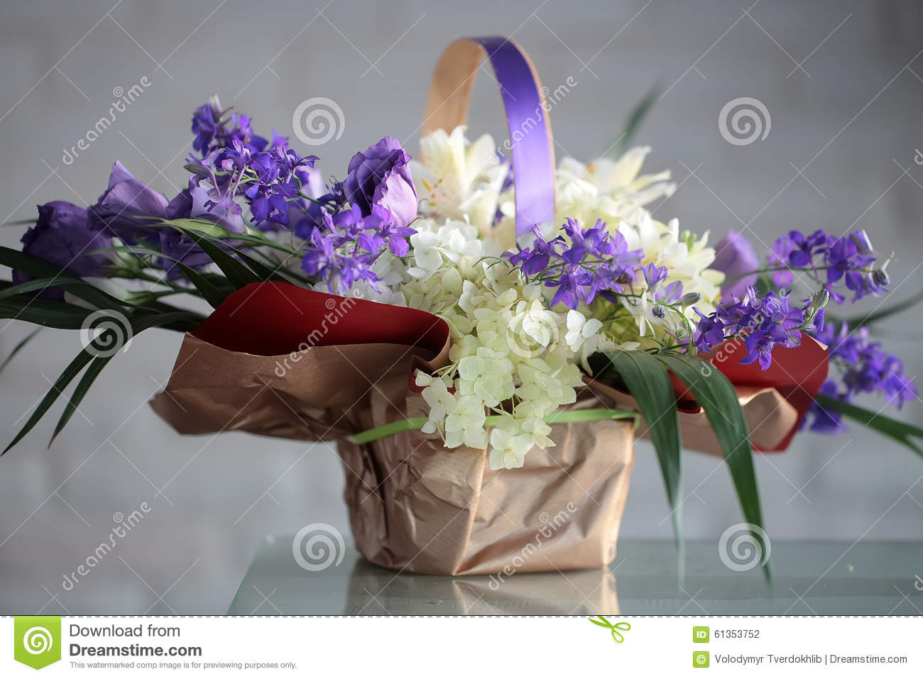 Beautiful Bunch Of Flowers Stock Photo Image Of Decorate 61353752