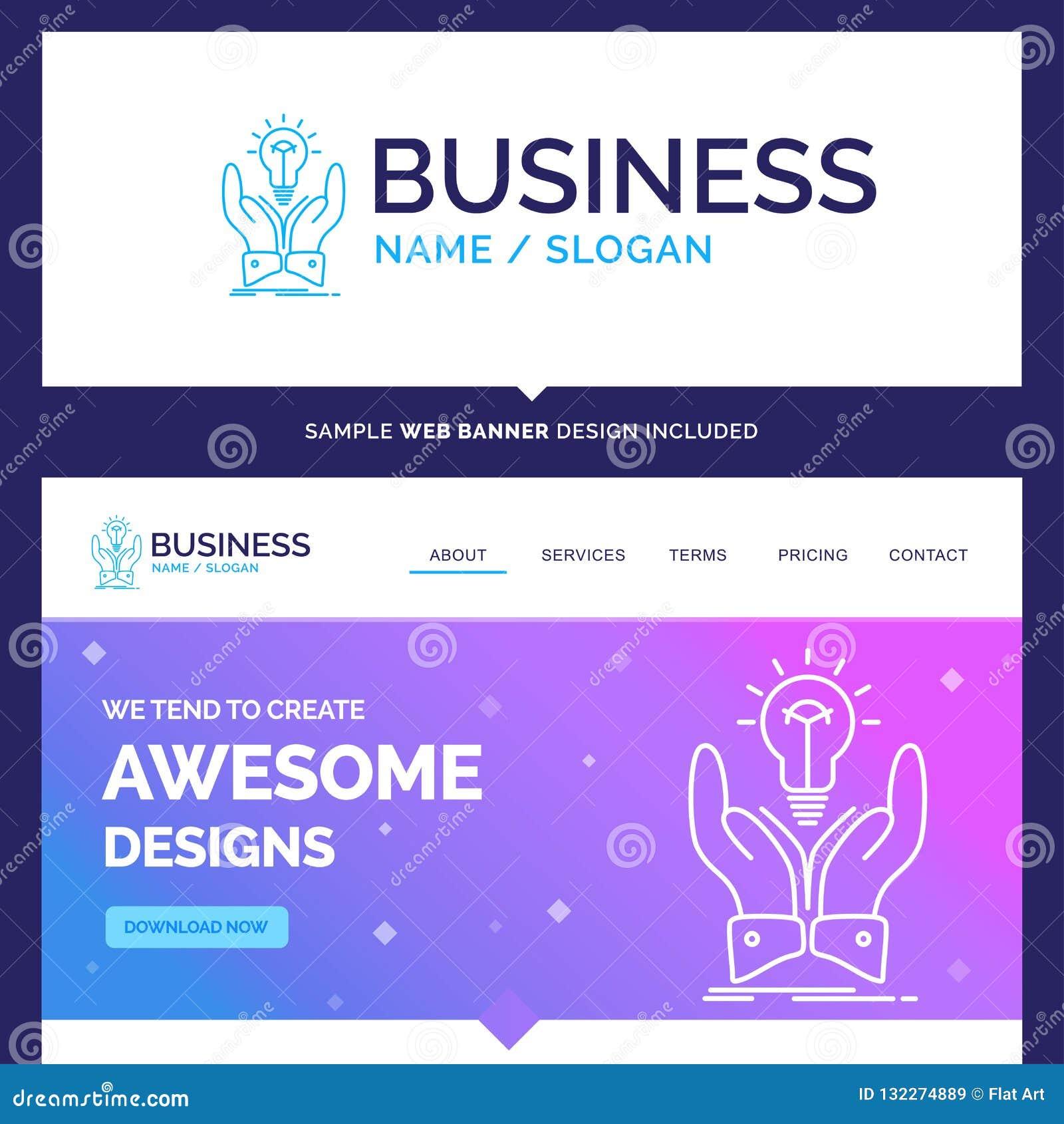 Beautiful Business Concept Brand Name Idea, Ideas, Creative ...