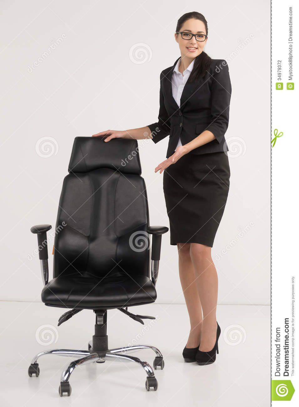 beautiful businesswoman inviting to apply for vacant stylish office chairs uk stylish office chairs uk