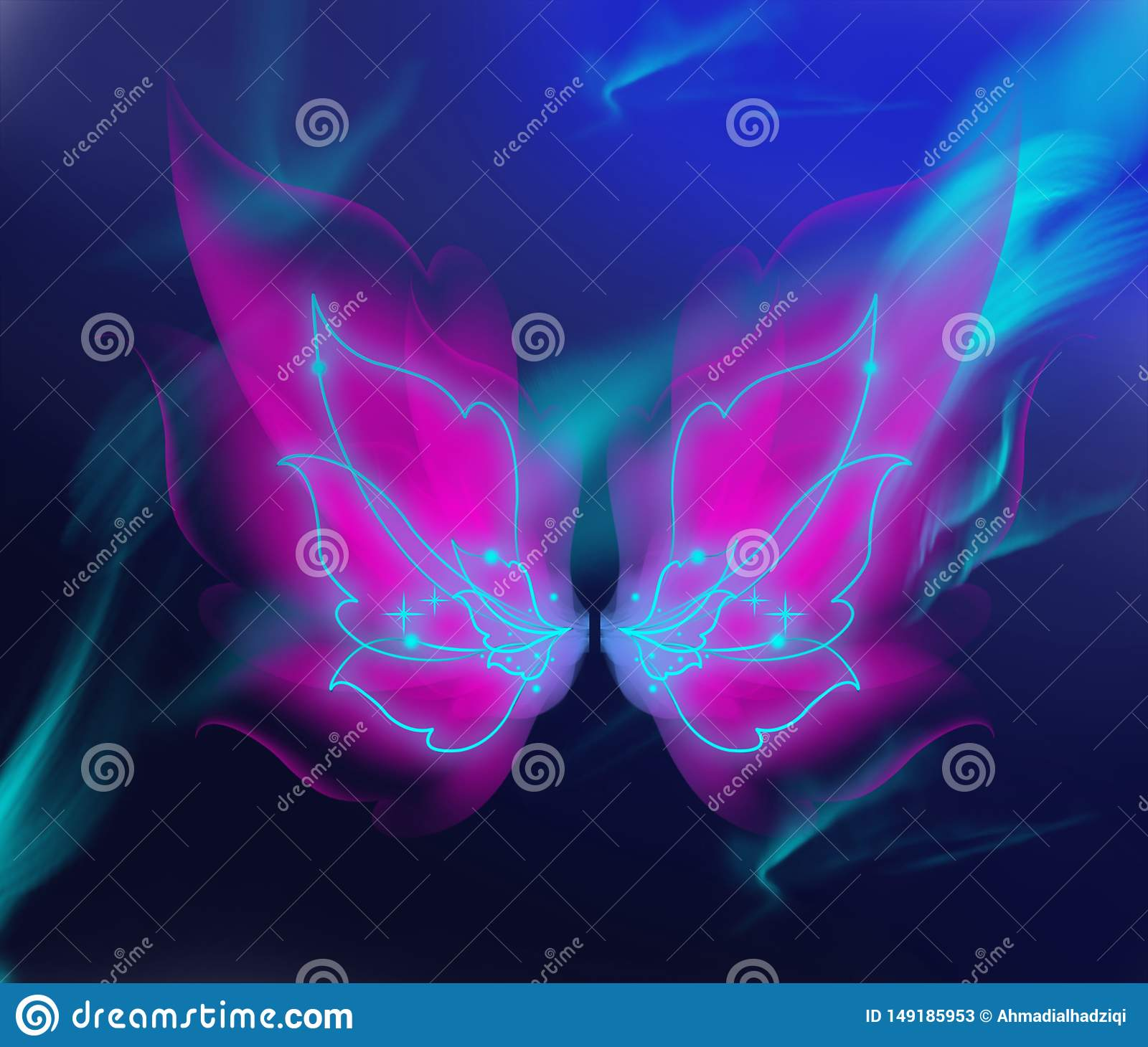 beautiful butterfly wings