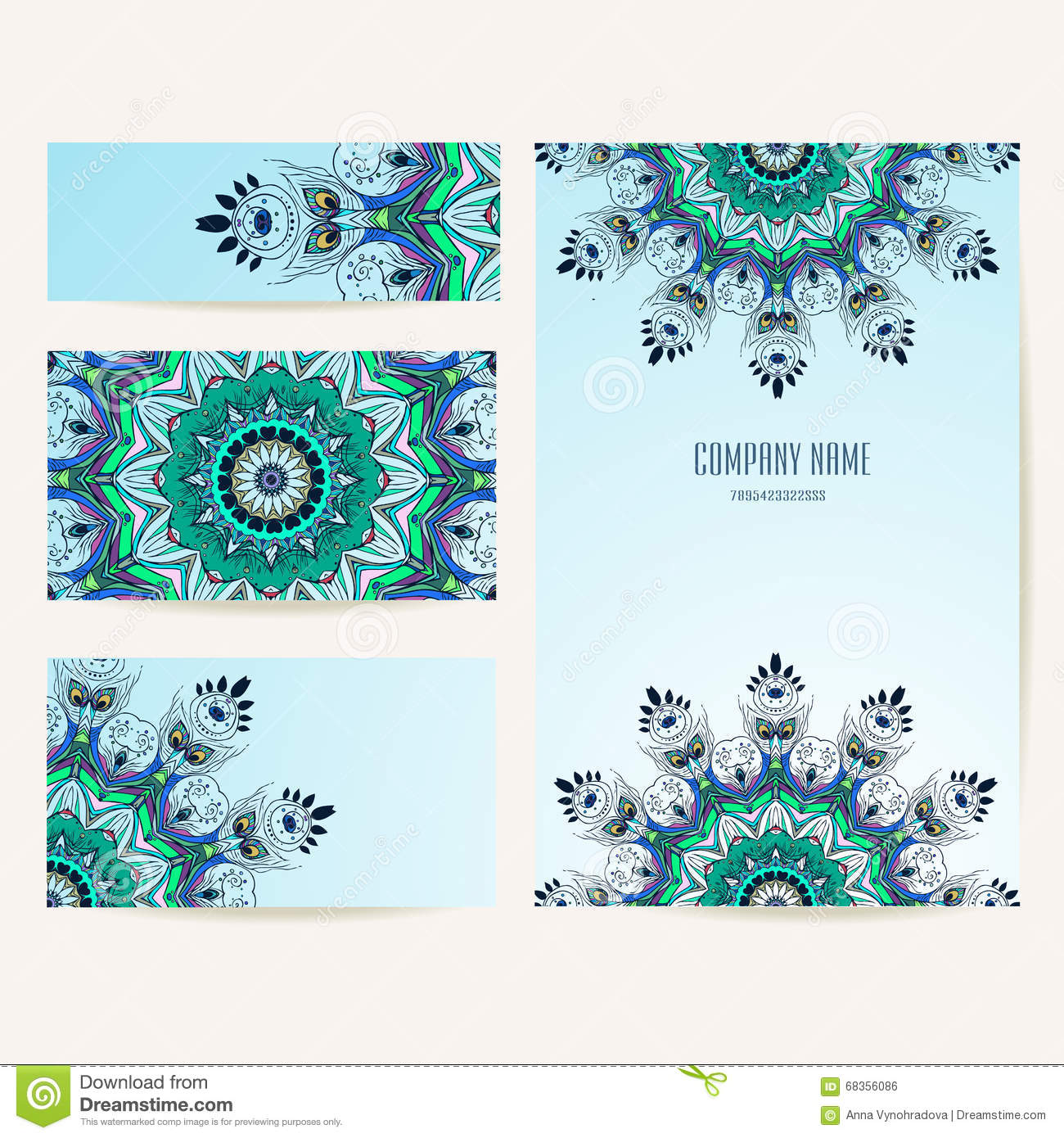 Beautiful Card Vector Stock Vector Illustration Of Concept