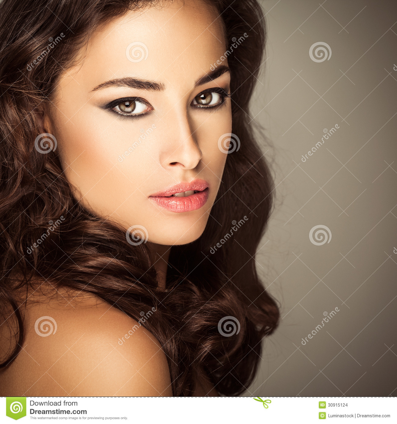 Beautiful Caucasian Woman Stock Images - Image: 30915124