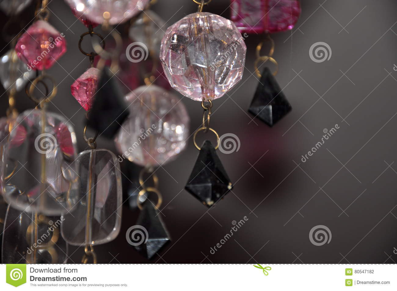 Beautiful Chandelier Crystals Background Stock Photo Image Of - Chandelier crystals pink