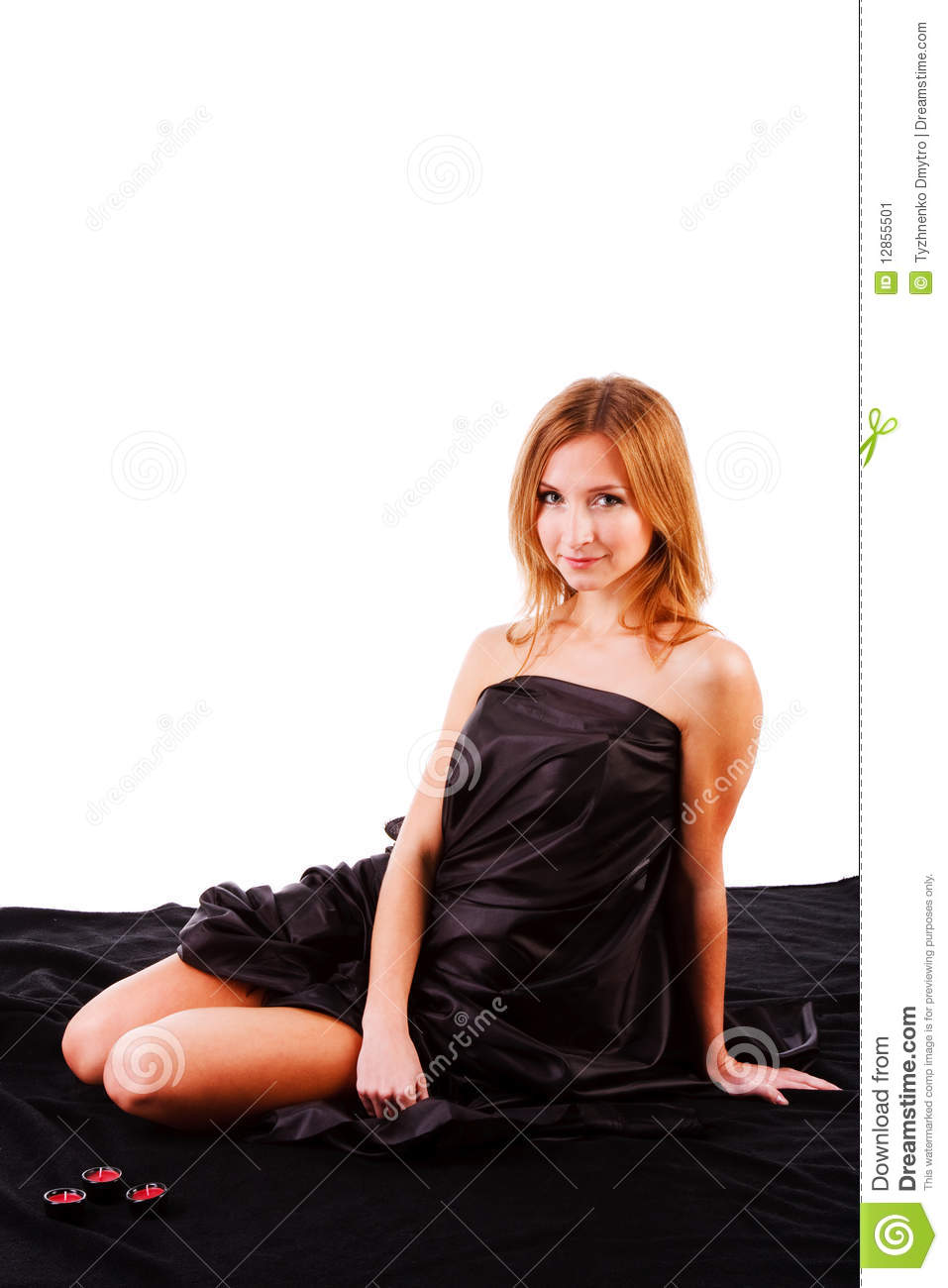 Beautiful charming young girl on bed stock image image 12855501 - Charming teenage girls image ...