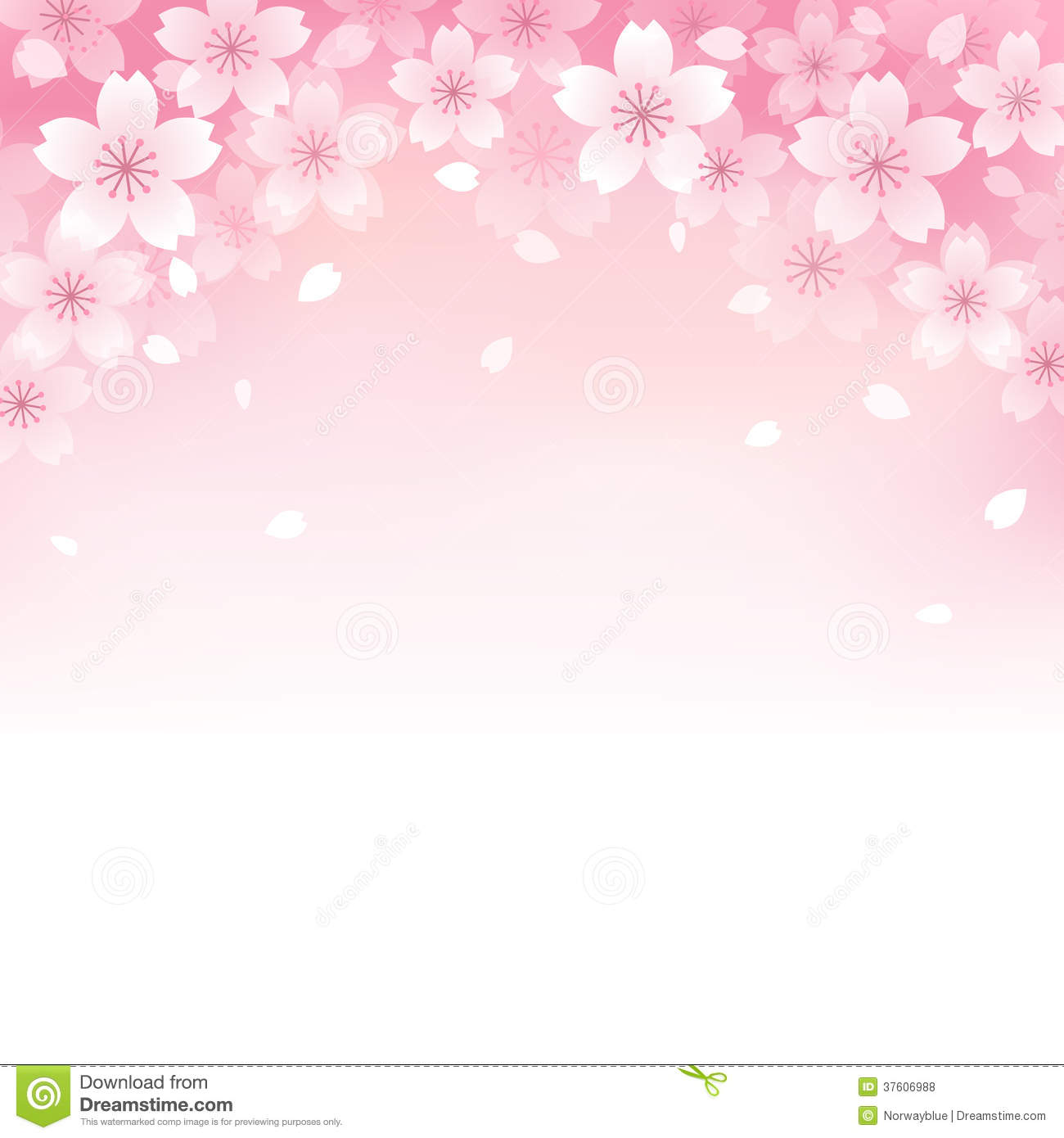 ... Cherry Blossom Background Royalty Free Stock Photos - Image: 37606988
