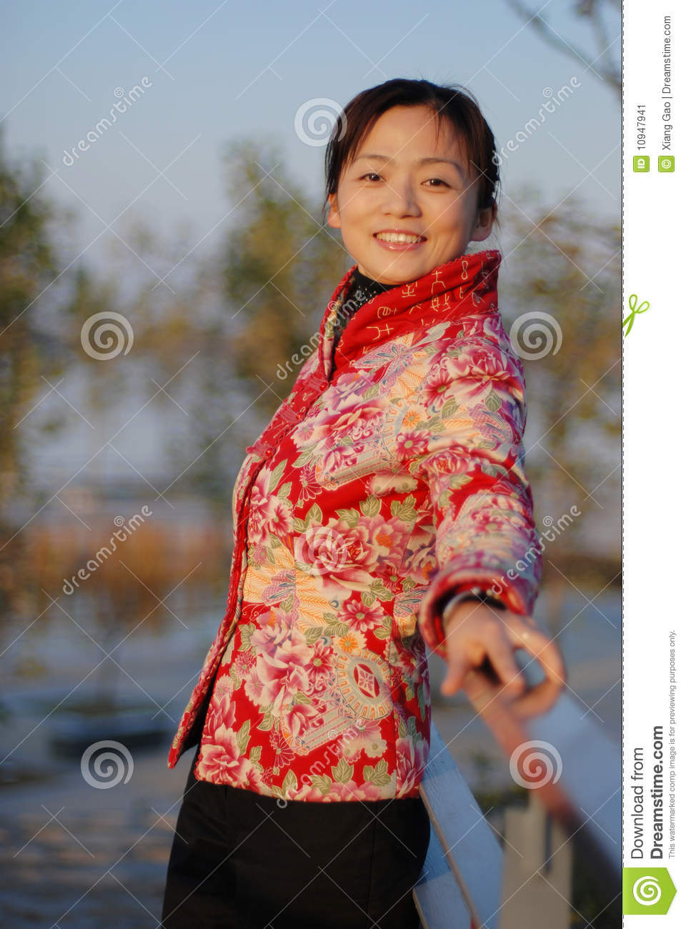 Beautiful chinese woman