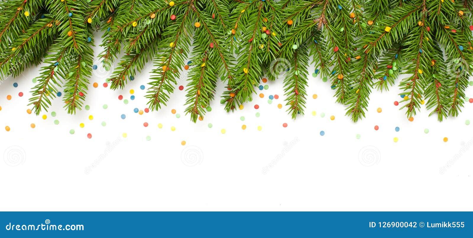 Beautiful Christmas Background Images.Beautiful Christmas Background With Green Fir Tree Branches