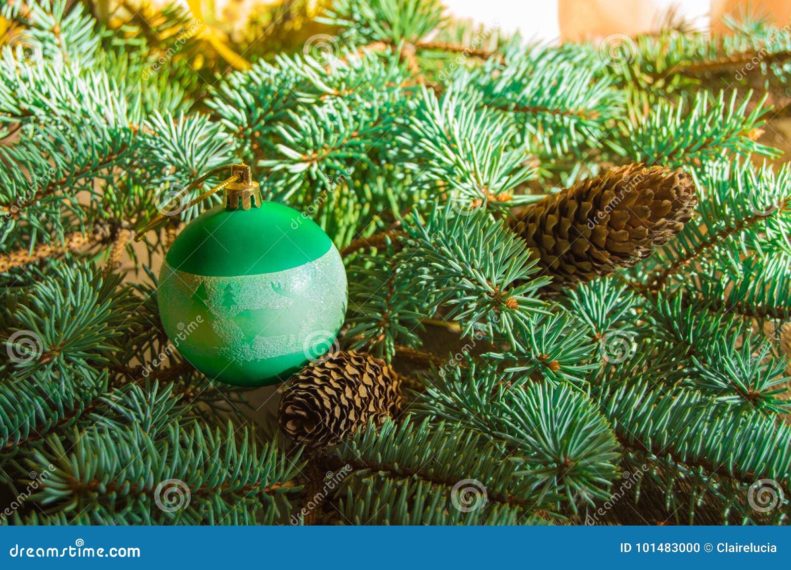 Beautiful Christmas Background Design.Beautiful Christmas Background With Pine Cones Christmas