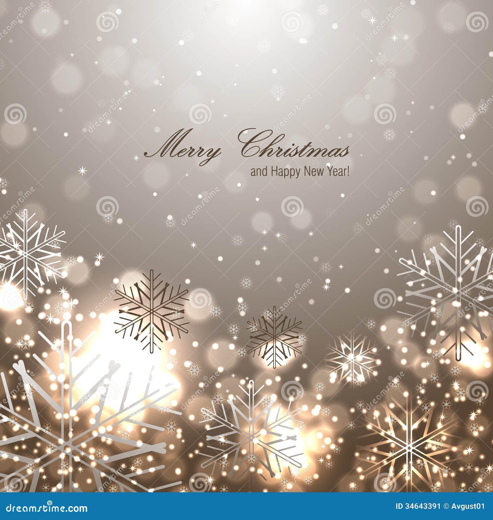 Beautiful Christmas Background Images.Beautiful Christmas Background With Snowflakes Stock Vector