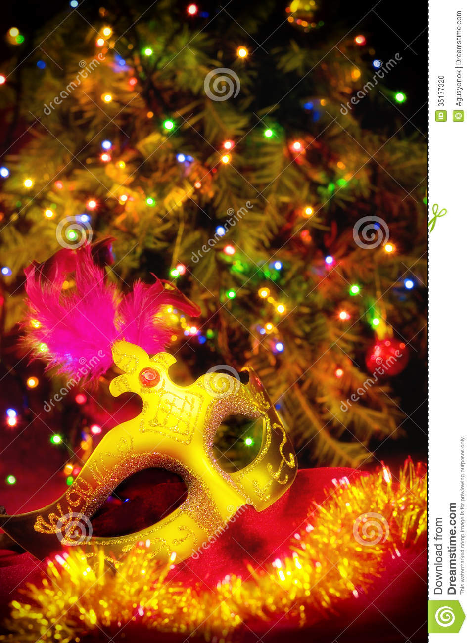 beautiful christmas card stock photo  image of gold  colourful