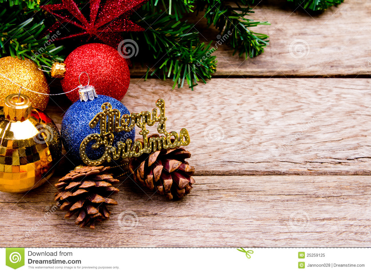 Beautiful christmas decorations stock image image 25259125 for Tasteful christmas decorations