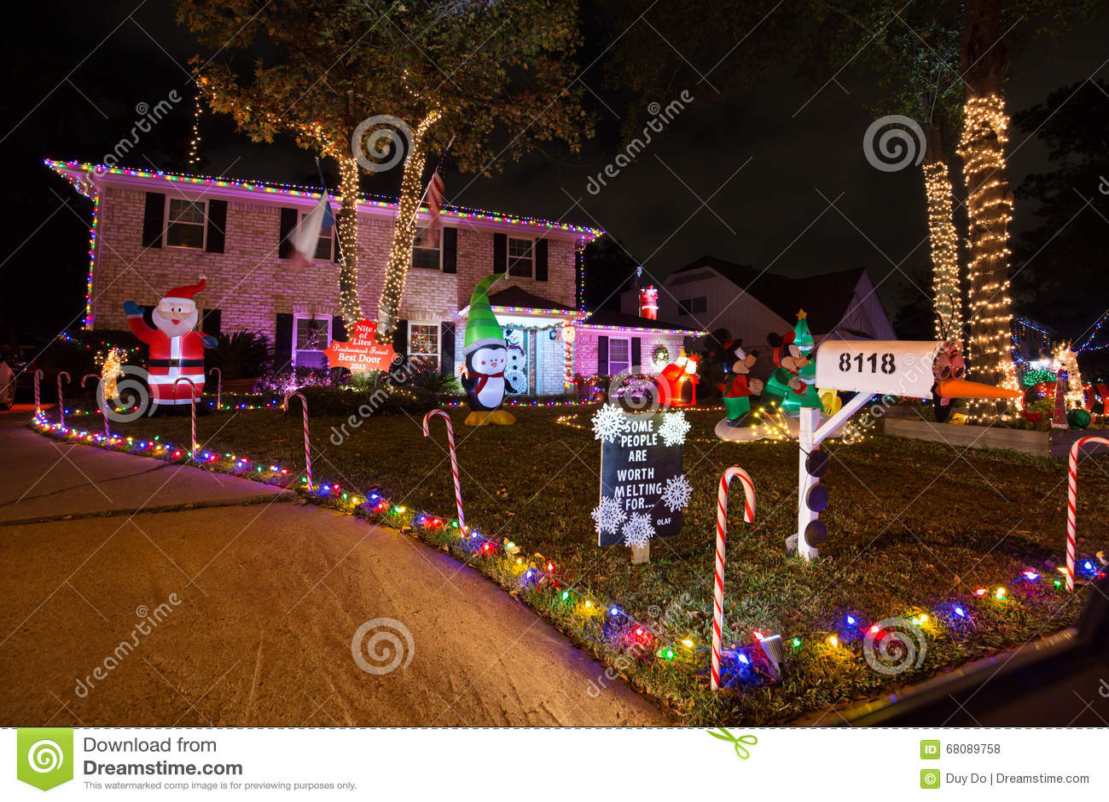 united states houston on 11 december 2015 beautiful christmas light in houston texas - Christmas In Houston 2015