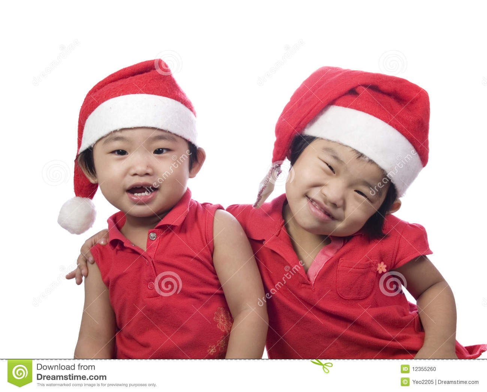 Beautiful Christmas Sisters