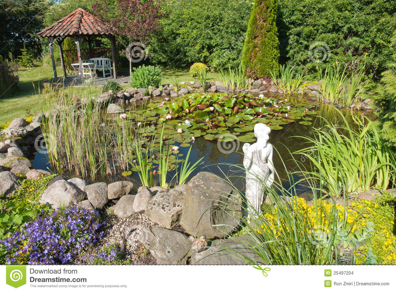 how to make a garden pond for fish