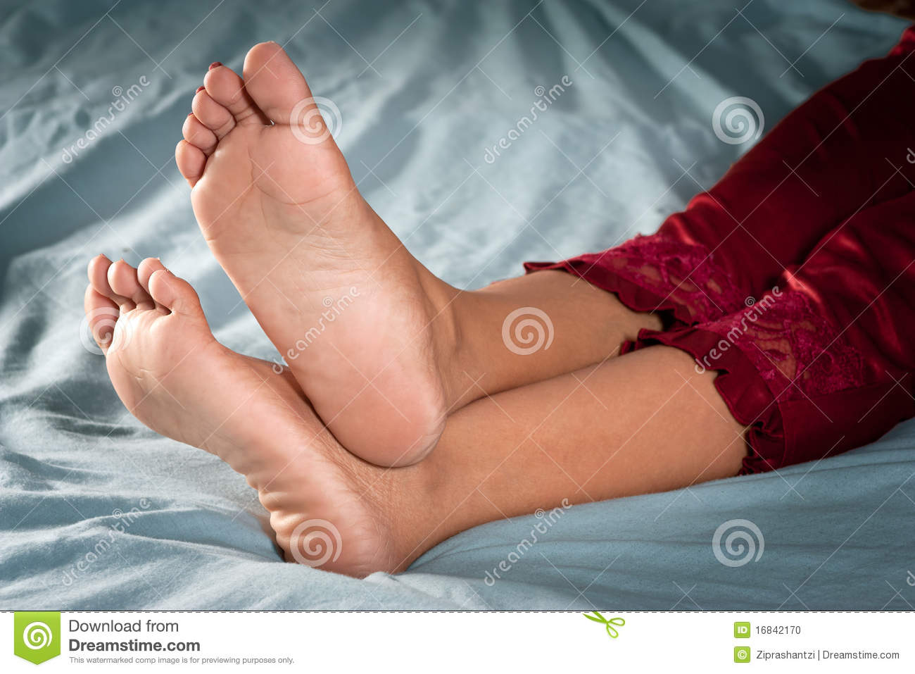 Women feet soles girl