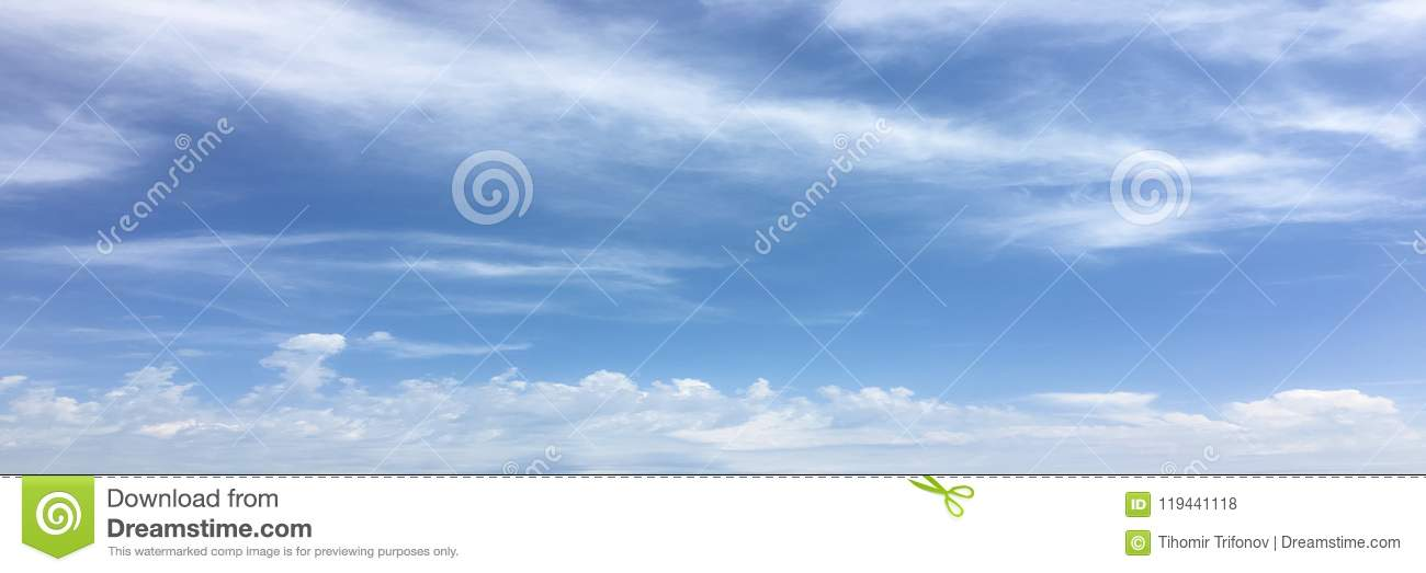 Beautiful clouds against a blue sky background. Cloud sky. Blue sky with clouds weather, nature cloud. White clouds, blue sky and